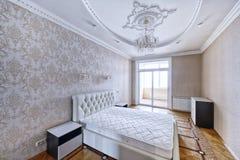 Εσωτερικές κρεβατοκάμαρες σχεδίου Στοκ Εικόνες