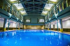 Εσωτερικές πισίνα και SPA Στοκ φωτογραφίες με δικαίωμα ελεύθερης χρήσης