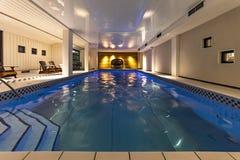 Εσωτερικές πισίνα και SPA Στοκ Φωτογραφία
