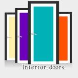 Εσωτερικές πόρτες Στοκ Φωτογραφία