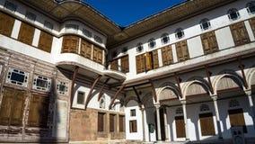 Εσωτερική άποψη ενός παλατιού Topkapi Harem, Ιστανμπούλ, Τουρκία στοκ φωτογραφία με δικαίωμα ελεύθερης χρήσης