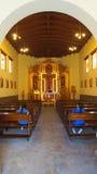 Εσωτερική άποψη της εκκλησίας στο Ciudad Mitad del Mundo turistic κέντρο πλησίον της πόλης του Κουίτο Στοκ εικόνες με δικαίωμα ελεύθερης χρήσης