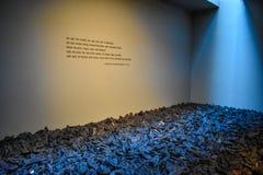 Εσωτερική άποψη του αναμνηστικού μουσείου ολοκαυτώματος, στο Washington DC, των ΗΠΑ Στοκ φωτογραφία με δικαίωμα ελεύθερης χρήσης