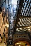Εσωτερική άποψη του αναμνηστικού μουσείου ολοκαυτώματος, στο Washington DC, των ΗΠΑ Στοκ εικόνα με δικαίωμα ελεύθερης χρήσης