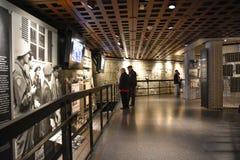 Εσωτερική άποψη του αναμνηστικού μουσείου ολοκαυτώματος, στο Washington DC, των ΗΠΑ Στοκ Εικόνες