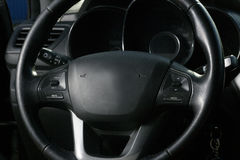 Εσωτερική άποψη του αυτοκινήτου με το σαλόνι Στοκ Εικόνα