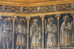 Εσωτερική άποψη του θόλου καθεδρικών ναών της Σιένα Ιταλία Τοσκάνη Στοκ φωτογραφίες με δικαίωμα ελεύθερης χρήσης