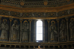 Εσωτερική άποψη του θόλου καθεδρικών ναών της Σιένα Ιταλία Τοσκάνη Στοκ φωτογραφία με δικαίωμα ελεύθερης χρήσης