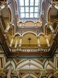 Εσωτερική άποψη του παλαιού Δημαρχείου στο Ρίτσμοντ, VA Στοκ φωτογραφίες με δικαίωμα ελεύθερης χρήσης
