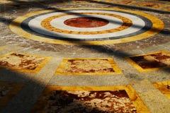 Εσωτερική άποψη του παλατιού Caserta, Ιταλία Στοκ φωτογραφία με δικαίωμα ελεύθερης χρήσης