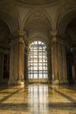 Εσωτερική άποψη του παλατιού Caserta, Ιταλία Στοκ Εικόνα