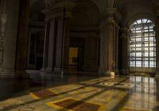 Εσωτερική άποψη του παλατιού Caserta, Ιταλία Στοκ Φωτογραφίες