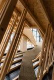 Εσωτερική άποψη του τυρολέζικου κέντρου αρχιτεκτονικής στο Ίνσμπρουκ Στοκ Φωτογραφία