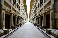 Εσωτερική άποψη του φάρου του Christopher Columbus, Santo Domingo, Δομινικανή Δημοκρατία Στοκ φωτογραφία με δικαίωμα ελεύθερης χρήσης