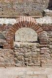Εσωτερική άποψη των αρχαίων θερμικών λουτρών Diocletianopolis, πόλη Hisarya, Βουλγαρία Στοκ Φωτογραφίες