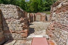 Εσωτερική άποψη των αρχαίων θερμικών λουτρών Diocletianopolis, πόλη Hisarya, Βουλγαρία Στοκ Εικόνα