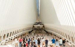 Εσωτερική άποψη Oculus Στοκ φωτογραφίες με δικαίωμα ελεύθερης χρήσης
