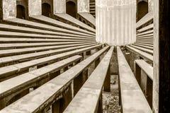 Εσωτερική άποψη Rama Yantra Jantar Mantar στοκ φωτογραφία