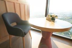 Εσωτερική έννοια καθιστικών Διακοσμήστε σύγχρονο στο σπίτι στοκ εικόνα