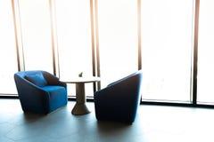 Εσωτερική έννοια καθιστικών Διακοσμήστε σύγχρονο στο σπίτι στοκ εικόνα με δικαίωμα ελεύθερης χρήσης