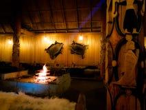 Εσωτερική αίθουσα Βίκινγκ Στοκ φωτογραφίες με δικαίωμα ελεύθερης χρήσης