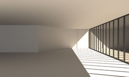 Εσωτερική αίθουσα Στοκ εικόνα με δικαίωμα ελεύθερης χρήσης