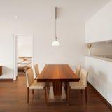 Εσωτερική αρχιτεκτονική, καθιστικό Στοκ εικόνα με δικαίωμα ελεύθερης χρήσης