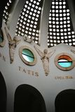 Εσωτερική αρχιτεκτονική της εκκλησίας τομέων ποιμένων, παρεκκλησι, στη Βηθλεέμ, Παλαιστίνη, Ισραήλ στοκ εικόνα με δικαίωμα ελεύθερης χρήσης
