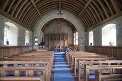 Εσωτερική εκκλησία στη Σκωτία Στοκ Εικόνες