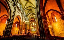 Εσωτερική εκκλησία Στοκ Φωτογραφία