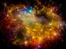 Εσωτερική ζωή του διαστήματος Στοκ εικόνες με δικαίωμα ελεύθερης χρήσης