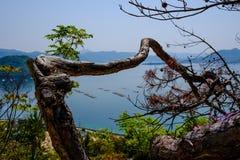 Εσωτερική θάλασσα κοντά στη Χιροσίμα, Ιαπωνία Στοκ φωτογραφία με δικαίωμα ελεύθερης χρήσης
