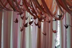 Εσωτερική διακόσμηση γερανών εγγράφου Στοκ Φωτογραφία