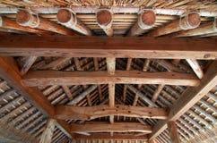 εσωτερική ιαπωνική στέγη στοκ φωτογραφία με δικαίωμα ελεύθερης χρήσης