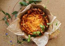 Εσωτερική ιταλική πίτσα Στοκ εικόνα με δικαίωμα ελεύθερης χρήσης