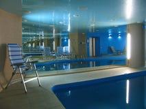 εσωτερική κολύμβηση λιμ&n Στοκ Εικόνες