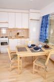 εσωτερική κουζίνα λεπτομέρειας Στοκ Φωτογραφία