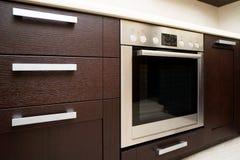 εσωτερική κουζίνα σύγχρονη Στοκ εικόνα με δικαίωμα ελεύθερης χρήσης