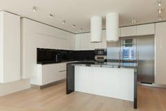 εσωτερική κουζίνα σύγχρονη Στοκ Φωτογραφία