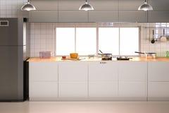εσωτερική κουζίνα Στοκ Φωτογραφία