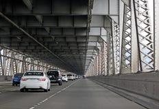 εσωτερική κυκλοφορία του Όουκλαντ παρόδων γεφυρών κόλπων Στοκ Φωτογραφίες