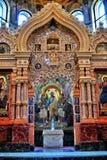 Εσωτερική ομορφιά του καθεδρικού ναού Αγία Πετρούπολη Στοκ Φωτογραφία