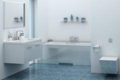 εσωτερική πετσέτα κύπελλων λουτρών Στοκ εικόνες με δικαίωμα ελεύθερης χρήσης