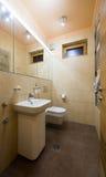 εσωτερική πετσέτα κύπελλων λουτρών Στοκ φωτογραφία με δικαίωμα ελεύθερης χρήσης