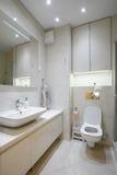 εσωτερική πετσέτα κύπελλων λουτρών Στοκ Εικόνες