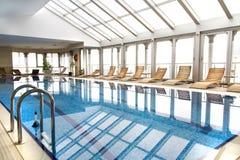 Εσωτερική πισίνα Στοκ Εικόνα