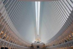 Εσωτερική πλήμνη WTC στοκ εικόνες