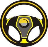 εσωτερική ρόδα μεταφορών οδήγησης αυτοκινήτων Διανυσματική απεικόνιση