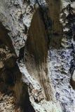 Εσωτερική σπηλιά Thien Cung ήχων καμπάνας που διακόσμησε με τα τεχνητά ζωηρόχρωμα φω'τα στο μακρύ κόλπο εκταρίου Quang Ninh, Βιετ Στοκ φωτογραφία με δικαίωμα ελεύθερης χρήσης