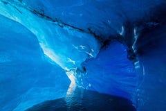 Εσωτερική σπηλιά παγετώνων Στοκ Φωτογραφία